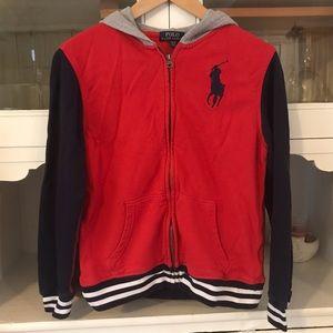 Ralph Lauren polo zipper hoodie